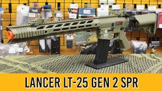 Lancer Tactical LT-25 Gen 2 SPR Interceptor Airsoft Gun Review