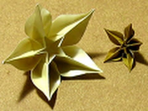 Origami Tutorial: Carambola (Carmen Sprung) - YouTube - photo#13