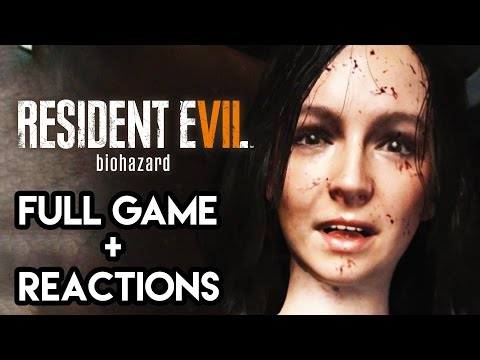 Resident Evil 7 Gameplay Walkthrough - FULL GAME + REACTIONS 7.5 HOURS COMPLETE (PS4 Pro)