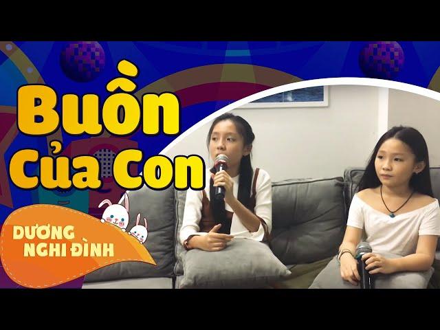 Nghi Đình song ca cùng chị Ba vào dịp Tết với ca khúc Buồn Của Con ( Ngẫu Hứng Hát Karaoke )
