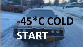 видео: Extreme car cold start compilation #23 -40*C Russia+Alaska | запуск двигателя в мороз -40
