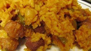 Easy Hot Dog Jambalaya Recipe