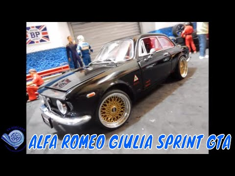 1965 alfa romeo giulia sprint gta by road signiture 1 18. Black Bedroom Furniture Sets. Home Design Ideas
