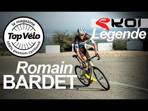 Le casque de vélo Ekoi Legende porté par Romain Bardet !