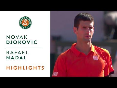 Novak Djokovic v Rafael Nadal Highlights - Men's Quarterfinals 2015 - Roland-Garros