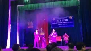 Nối Vòng Tay Lớn & Dòng Máu Lạc Hồng Guitar TNT band T39 lạ và phiêu