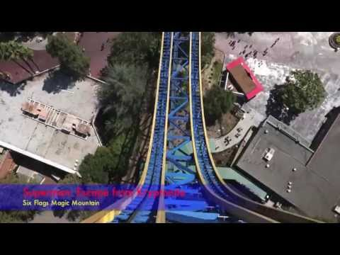 TOP 5 FASTEST COASTER ON EARTH 1080p ON-RIDE