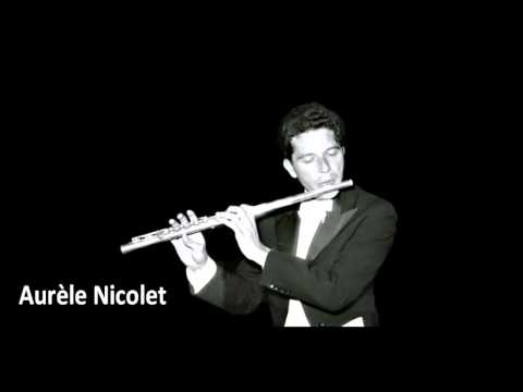 Aurèle Nicolet - Allemande de Bach