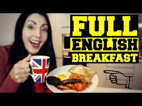 Full English Breakfast (Fry Up) | LEARN BRITISH CULTURE | BRITISH FOOD