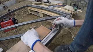 як зробити красиву хвіртку