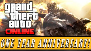 Grand Theft Auto 5 | One Year Release Date Anniversary, Yet Still No Heists DLC For Online!