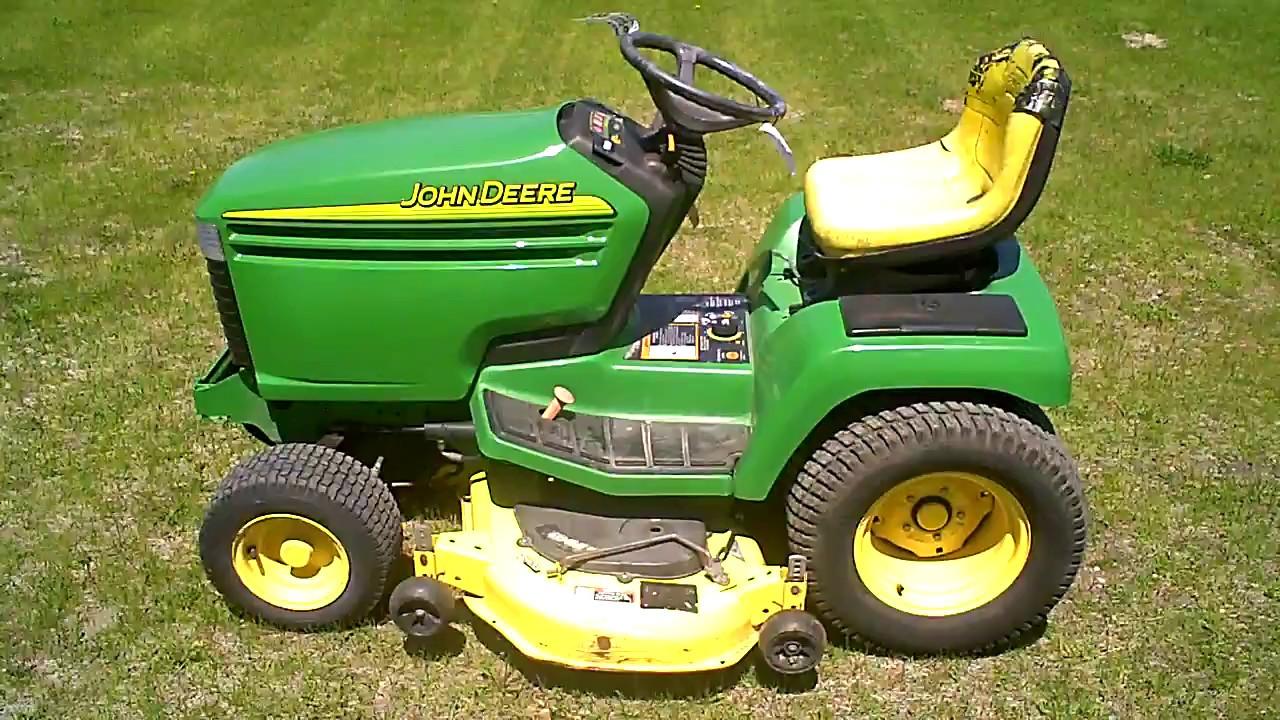 2004 John Deere Gx345 Lawn Mower For In Parts Lot 2437a