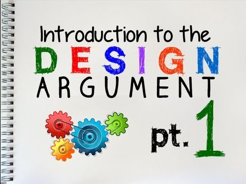 The Design Argument (1 of 2)   by MrMcMillanREvis