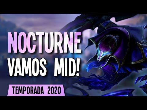 TEMPORADA 2020 | NOCTURNE HEXTECH en MID! Bastante tocho!