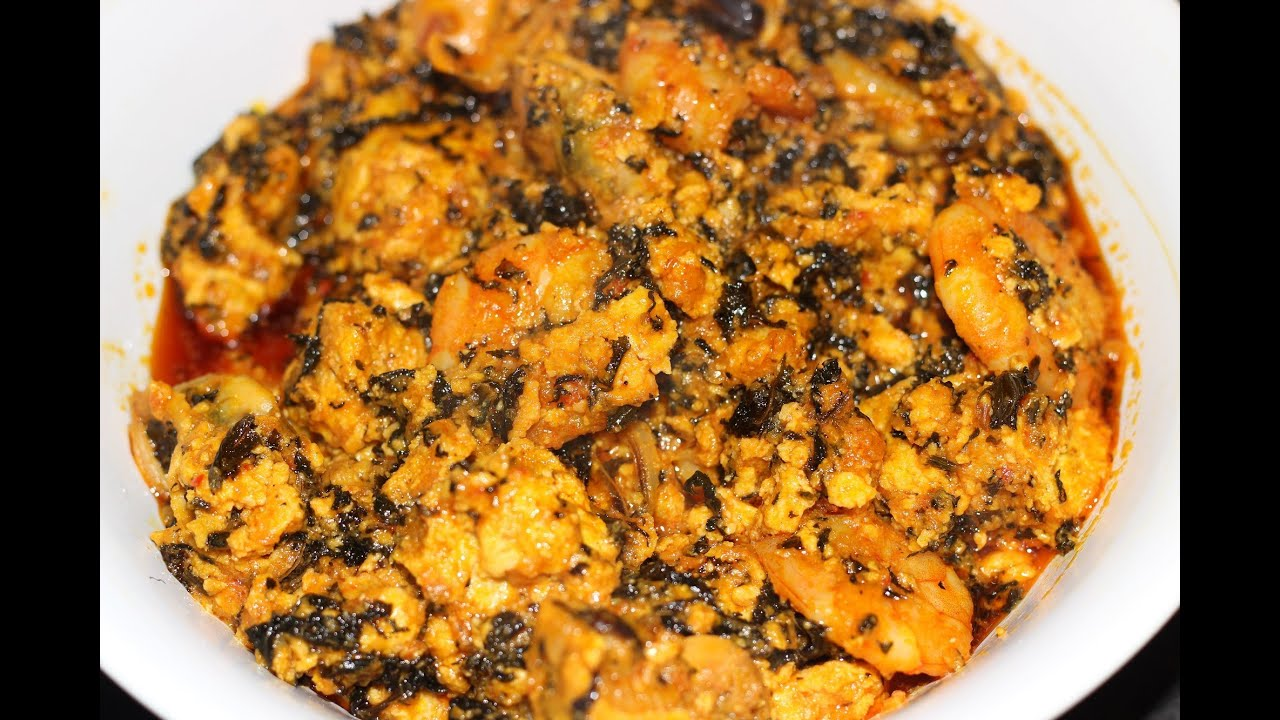 How To Make Egusi Soup Nigerian Food Egusi Stew Youtube