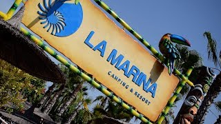 CAMPING RESORT LA MARINA - TOUR + REVIEW!!