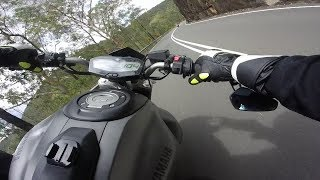 Street Racing Yamaha MT07 Mountain Run !