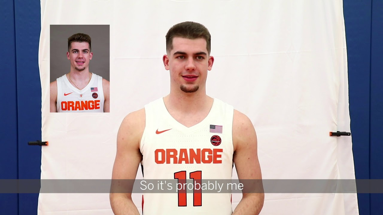 SU Mens Basketball: Rapid fire questions - YouTube