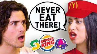 Download I spent a day with EX-FAST FOOD EMPLOYEES (Secrets Exposed) Mp3 and Videos
