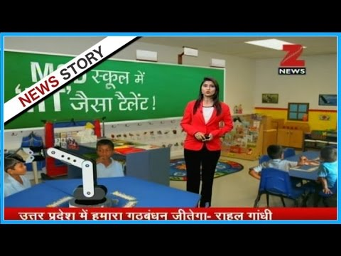 Meet the robotic engineers studying at South Delhi's MCD School