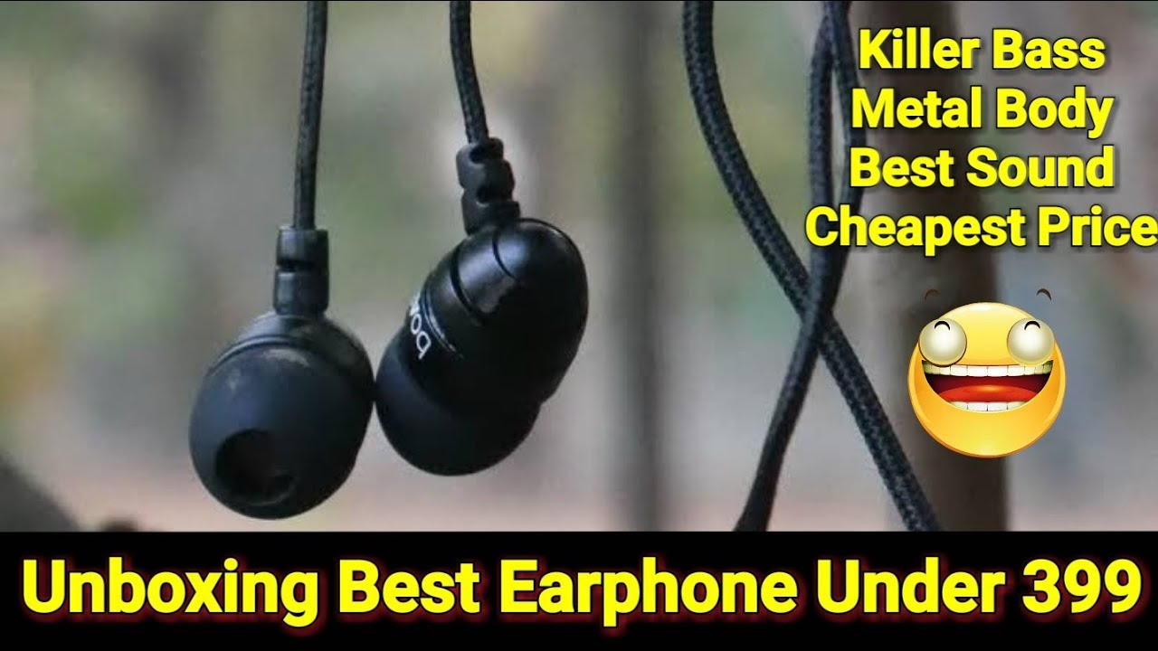 43aa6c1f525 [Unboxing] Best Earphone Under 399 | boat basshead 225 unboxing | earphone  for pubg | earphones 2019