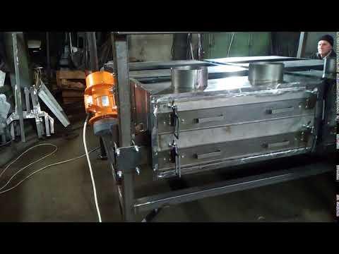Сепаратор НИВА - 100 в работе
