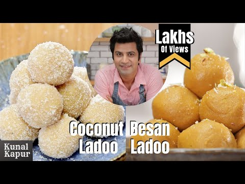2 Ladoos Besan & Coconut ladoo | Kunal Kapur Ramadan Recipes