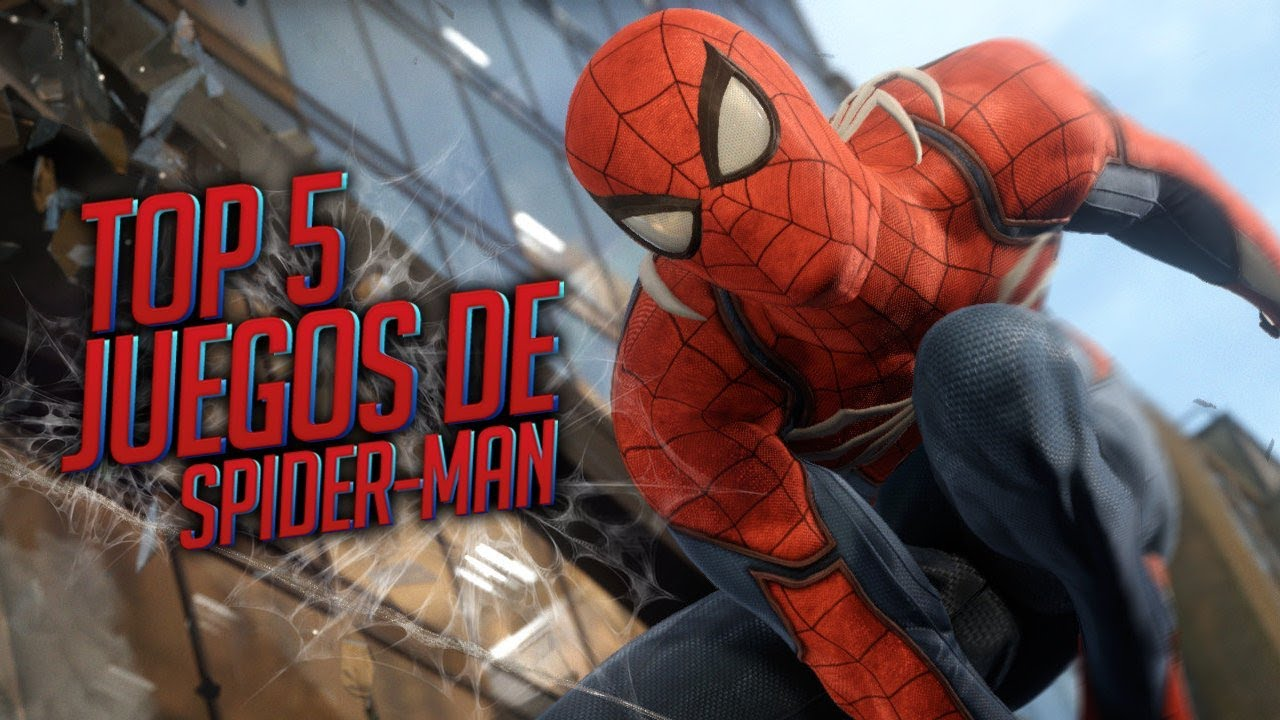 Top Juegos de Spiderman  YouTube