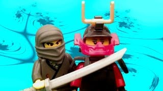 vuclip Samurai X vs. The Shadow Ninja LEGO Ninjago Episode 2