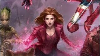 Scarlet Witch (Infinity War) Vs Story mission 13-8 [3 Teams + 5 second clear] - Marvel Future Fight