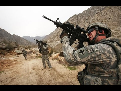 Afghanistan War - US Forces in Heavy Fighting Clashes and Intense Combat Firefights with Taliban