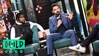 """Jake Johnson and Shameik Moore Discuss Seeing """"Spider-Man: Into the Spider-Verse"""" For The First Time"""