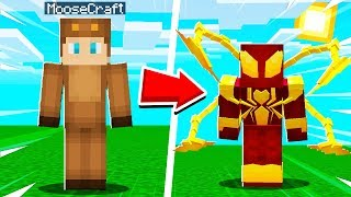 How To MORPH into IRON SPIDERMAN in Minecraft!