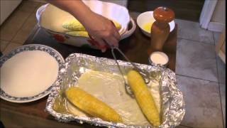 Buttery Delicious Fresh Corn On The Cob