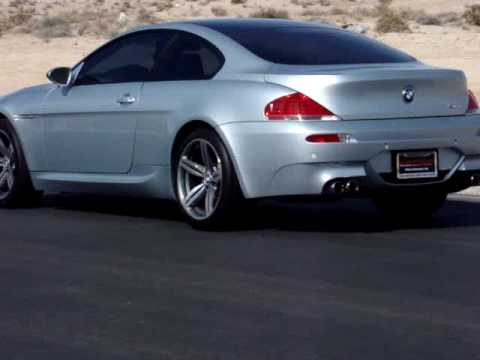 2006 Bmw M6 Coupe Smg 1st 2nd 3rd Gear Take Off