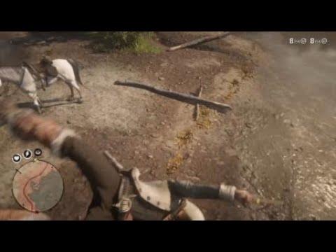Red Dead Redemption 2 : Une barque dans un arbre ? J'y grimpe ...