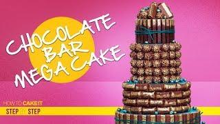 How To Make a Chocolate Bar MEGA Cake | Step By Step | How To Cake It | Yolanda Gampp