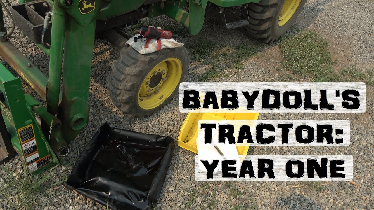 Deere 2038 tractor and implements