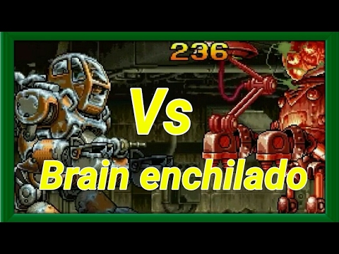 Metal Slug Attack [MSA] Brain Robot Marciano Vs Los Boss más poderosos de MSA