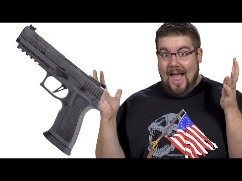 Sig Makes the Heaviest Plastic Gun EVAR?! - TGC News!