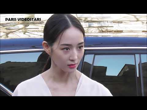 VIDEO Janine CHANG 张钧甯 @ Paris 27 february 2019 Fashion Week show Lanvin