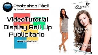 "Photoshop Lona Publicitaria ""Display Roll Up""  by Yanko0"