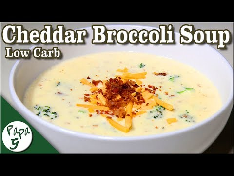 Thick And Creamy Cheddar Cheese And Broccoli Soup – Very Easy Low Carb Keto Recipe