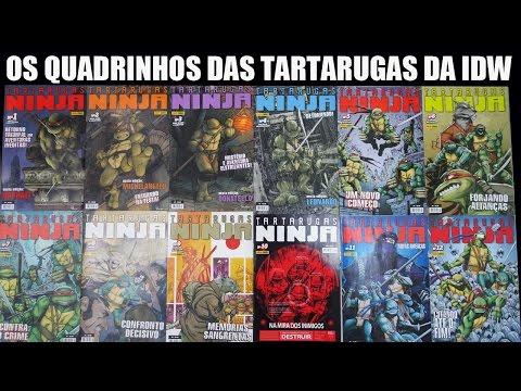 Os quadrinhos das Tartarugas Ninja da IDW - Porque a Panini cancelou? Comics HQs