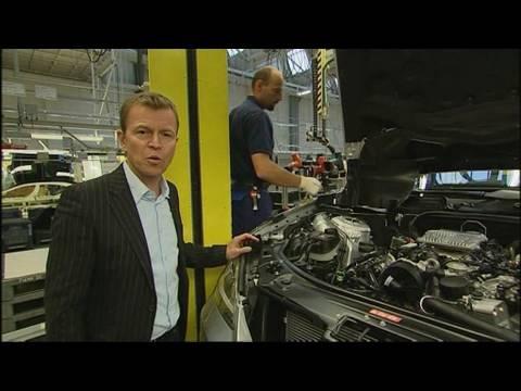 Produktion des Mercedes S400 Hybrid Wolfgang Rother blickt f