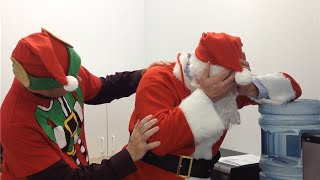 2014 Holiday Video - Santa stuck at the Office