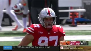 Top Plays: Nick Bosa vs. Oregon State Beavers | Ohio State | Big Ten Football