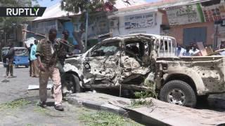 مقتل 6 أشخاص جراء تفجير انتحاري في مقديشو