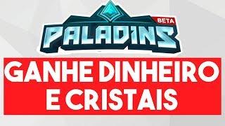 COMO GANHAR DINHEIRO E CRISTAIS JOGANDO PALADINS COM PWNWIN