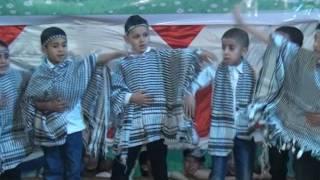 انشودة راجع الى فلسطين حفلة 2017 حضانة المهندس أ/ زهراء